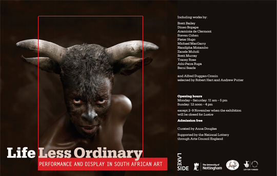 Image of Life less Ordinary exhibition display