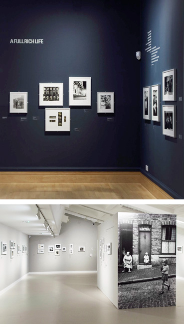 Image showing two views of the exhibition