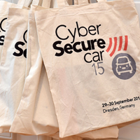 Image of Cyber Secure car branded delegate bags