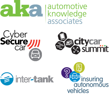 Image of aka, Cyber Secure Car, and City Car Summit, inter-tank, and Insuring Autonomous Vehicles identifiers